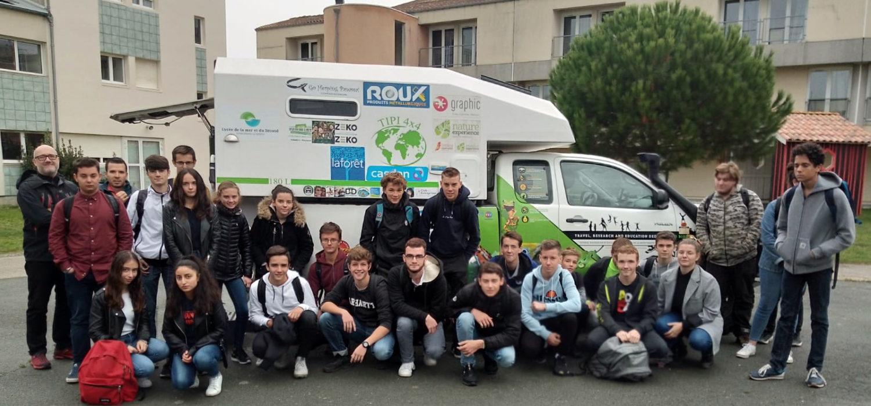 2nde et 1ere GPN au lycée de la mer et du littoral de Bourcefranc-Le-Chapus (17)