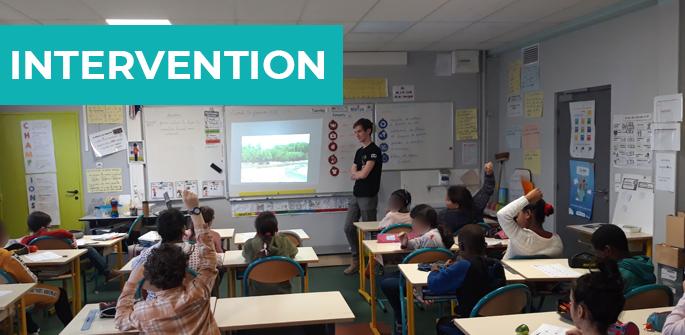 Intervention à l'école primaire Lavoisier de Châtellerault (86)