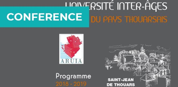 Conférence à l'Université Inter-Ages de Saint-Jean de Thouars (79)