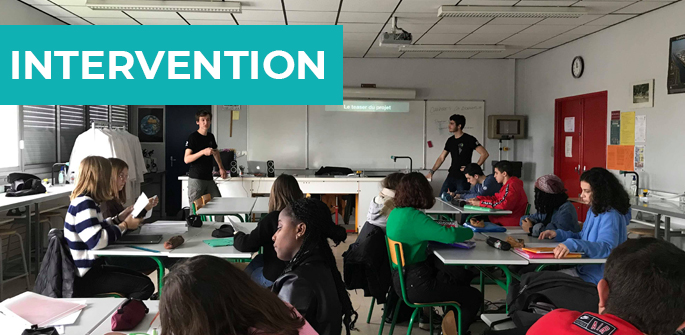 Intervention au lycée Maurice Genevoix de Bressuire (79)