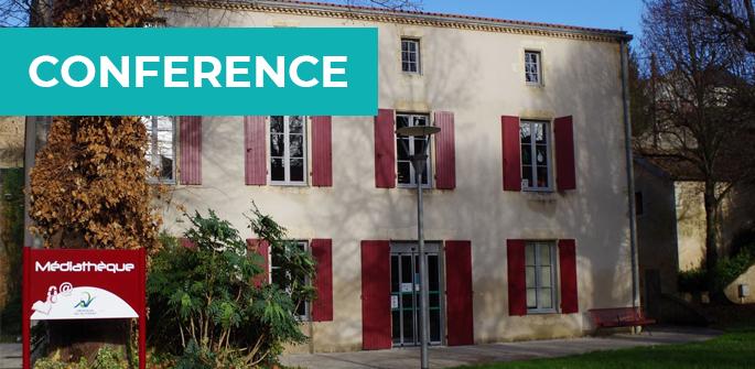 Conférence à la médiathèque d'Airvault (79)